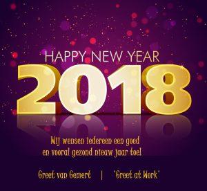 Nieuwe Jaar 2018 Greet